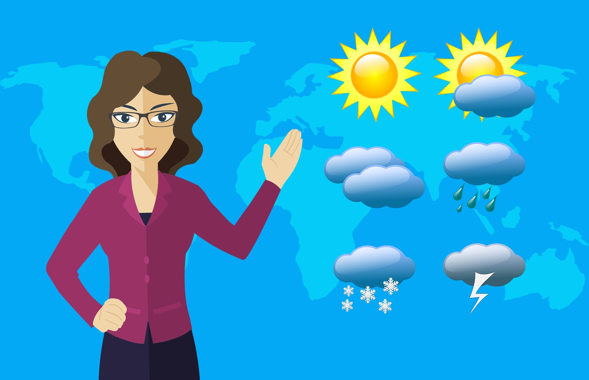 Počasí předpověď